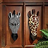 Design Toscano Tribal-Style Animal Masks Set of Two
