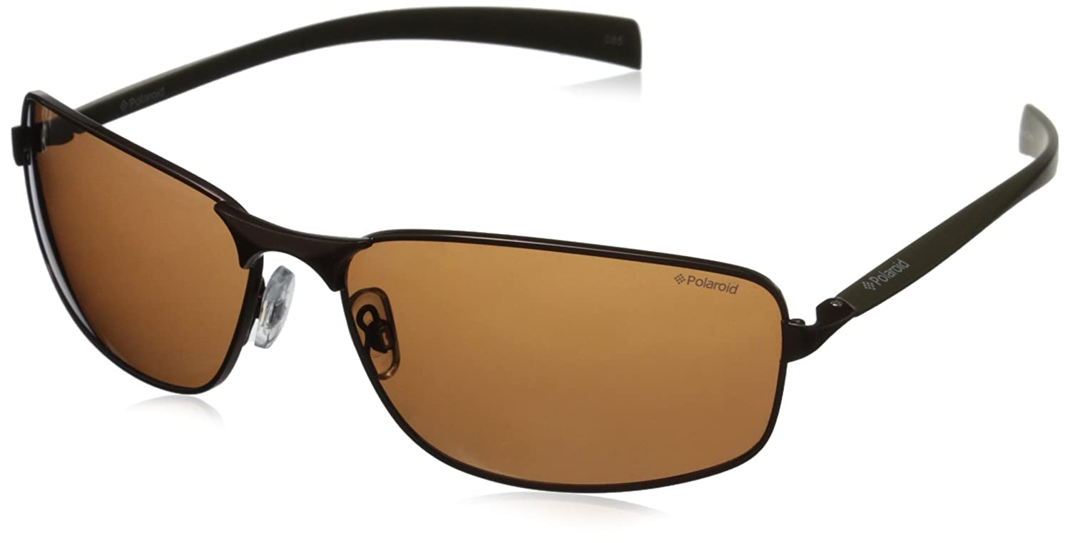 822fffa8de Polaroid Polarised Sunglasses Brown Dark Khaki PLD2022 N55 HE   Amazon.co.uk  Clothing