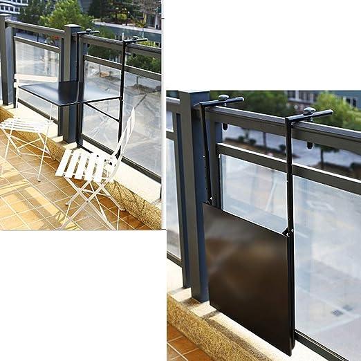 AOLI Estantes flotantes Patio Plataforma plegable Mesa colgante ...