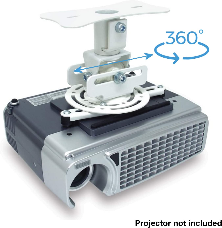 Soporte de Techo para proyector Universal con Giro 360 Grados ...