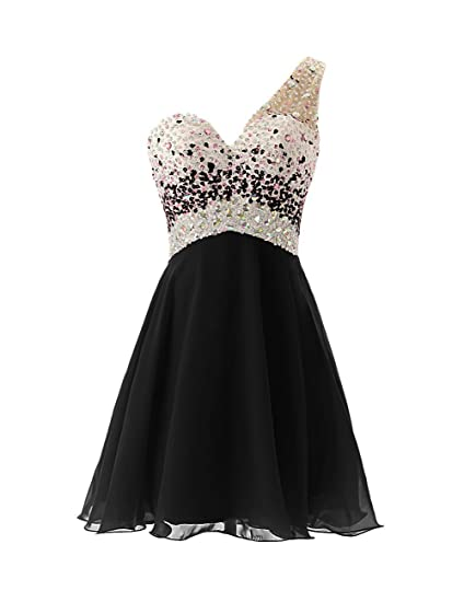 Fanciest Womens 2016 Short Homecoming Dresses Black Prom Dresses Long Formal Gowns UK4
