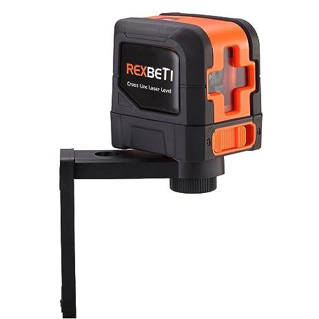 self leveling laser level rexbeti stable cross line level tool for suspending installing bright