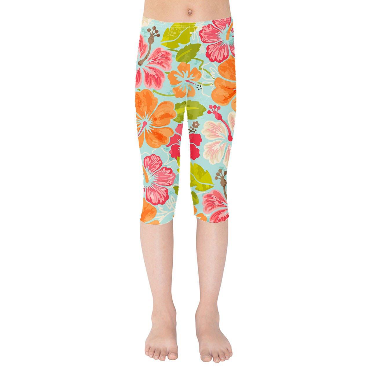 Aloha Kids Capri Leggings