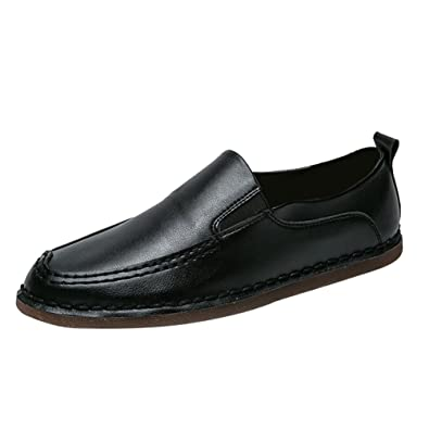 Steckdose Shop Loafers Mokassin Herren Casual Fahrschuhe PU-Leder Slip On Bootsschuhe Flach Weiß Anguang Auslass-Angebote Verkauf Hochwertige Billig Verkauf Aus Deutschland cKaLsT