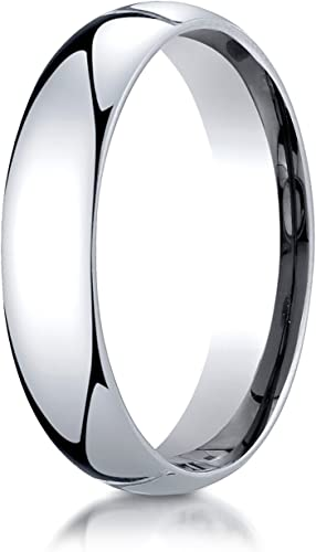 Details about  /10K White Gold 3mm Ultra Lightweight Standard Fit Flat Band Ring Size 5.5