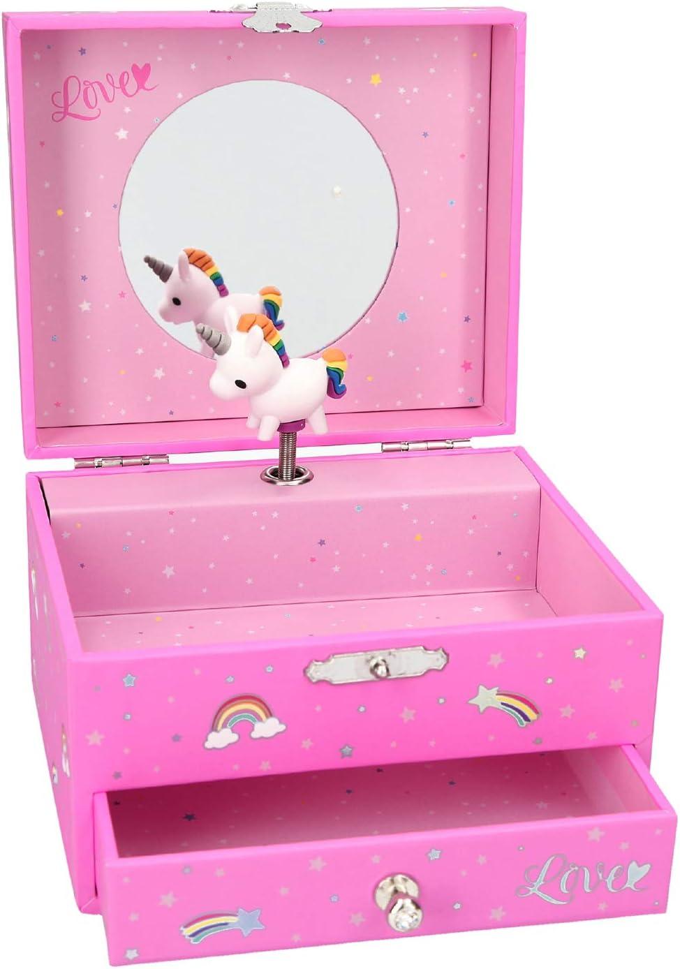 Top Model Joyero Musical Ylvi & The Minimoomis (0010407), Multicolor (DEPESCHE 1): Amazon.es: Juguetes y juegos