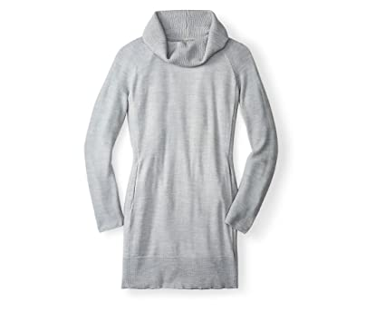 64653b6dee0 Smartwool Women s Granite Falls Sweater Dress (Silver Gray Heather) X-Large