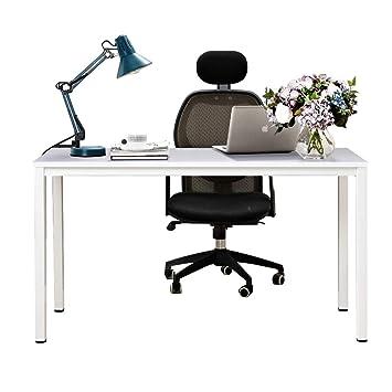 Need 138x55cm Escritorios Mesa de Ordenador Escritorio de Oficina Mesa de Estudio Puesto de Trabajo Mesa de Conferencias Talla Grande, ...