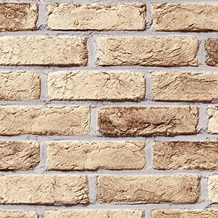 Amazon Peel Stick Interior Film Brick Pattern Contact Paper Simple Brick Pattern Paper