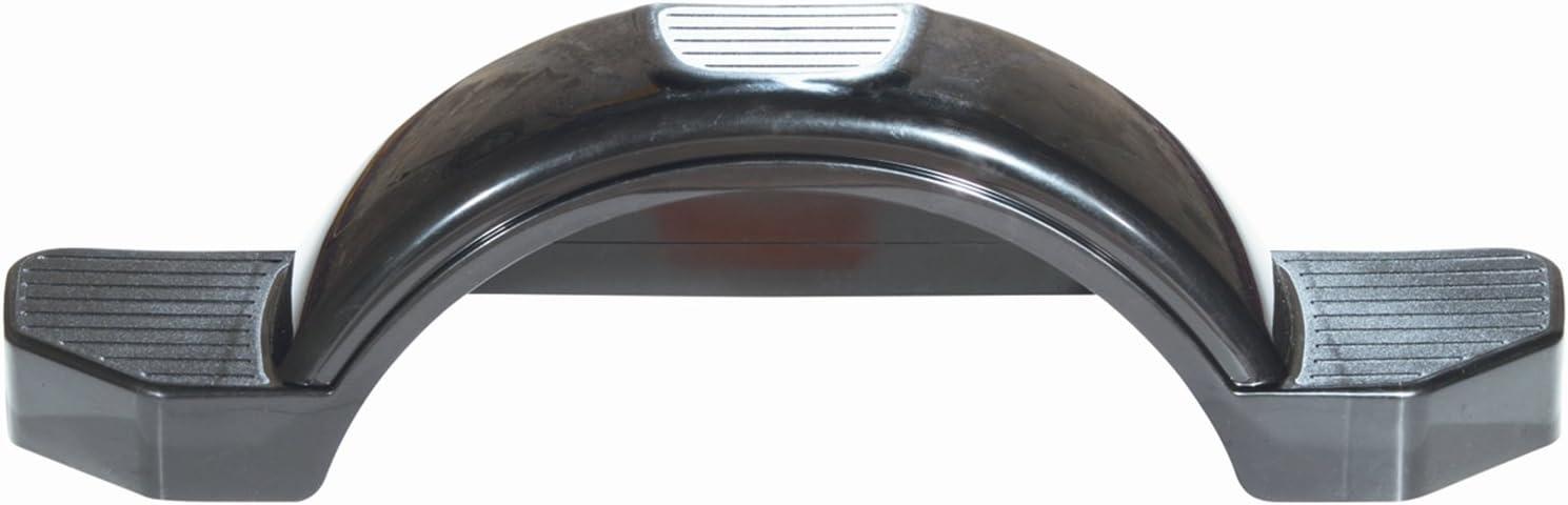"""FULTON Black Plastic Fender for 12/"""" Wheels #008582"""