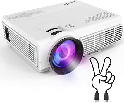 Amazon.com: VIVIMAGE 2200 LUX Proyector portátil, Mini ...