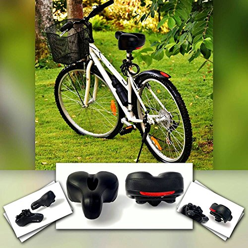 Bike Seat Most Comfortable Bicycle Cycling Saddle Replacement For