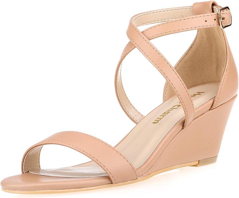 Womens 076 High Heel Dress Shoe Nude/Fuchsia