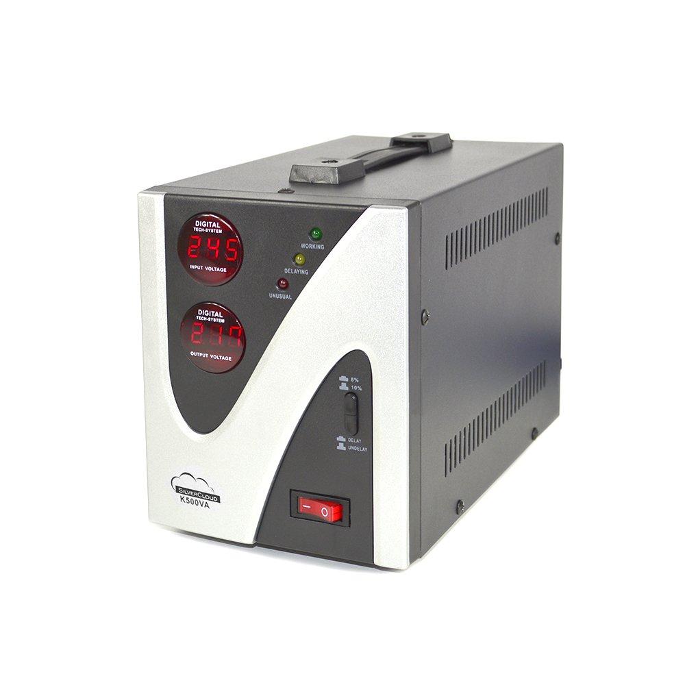 Convertisseur de Tension Stabilizer Silvercloud Silvercloud 500/VA 300/W