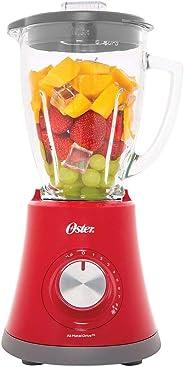 Liquidificador Super Chef, Vermelho, 110v, Oster