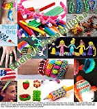 10,000 Rubber Bands Refill Pack Colorful Loom Kit