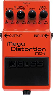 BOSS MD-2 Mega Distortion Pedal