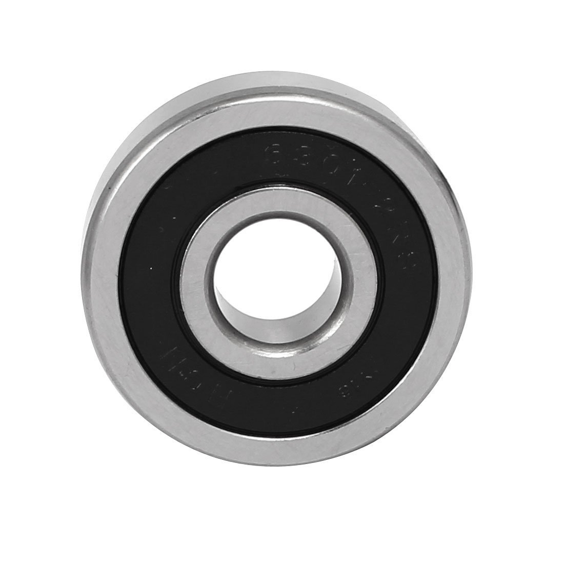 eDealMax 12mmx37mmx12mm Seal Design ranura profunda Rolling Ball Bearing 6301-2RS: Amazon.com: Industrial & Scientific