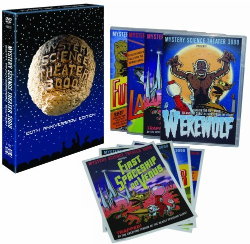 Mystery Science Theater 3000: 20th Anniversary Edition (First Spaceship on Venus / Laserblast / Werewolf / Future War) by Shout Factory