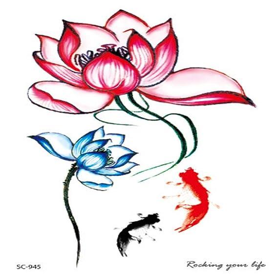 Etiqueta de tatuaje de diosa impermeable respetuosa con el medio ...
