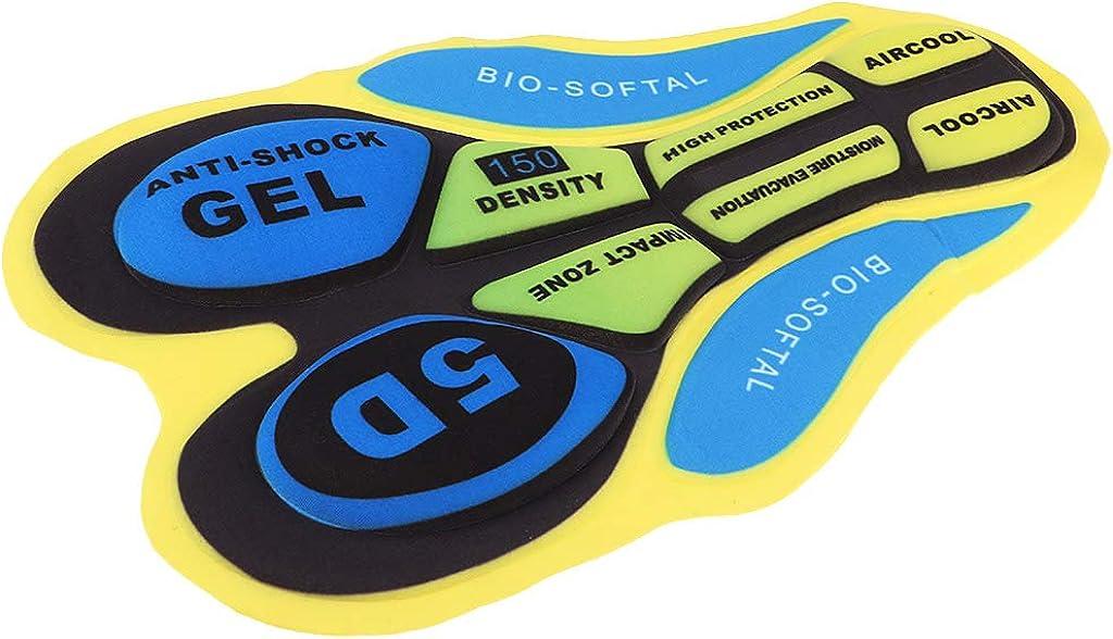 Atmungsaktiv Gel-Polster 3D Pad Gel-Polsterung für MTB Radhose Radlerhose