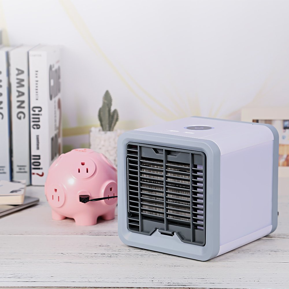 KuDiff Cool USB Charging Station with Power Strip 4 USB 8 AC Outlets and 10 Ft Cable 2000W High Power Cute Pig Toy 3D Cube Housing Fireproof Smart Charging for Home Use Gift Choice for Lady and Kids by KuDiff
