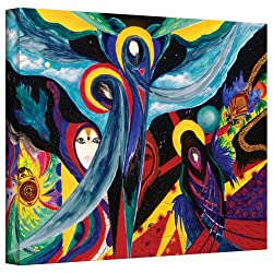 Art Wall Marina Petro Grieving Gallery Wrapped Canvas Art, 24 By 32-inch