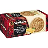 Walkers Italian Lemon and White Chocolate Biscuits