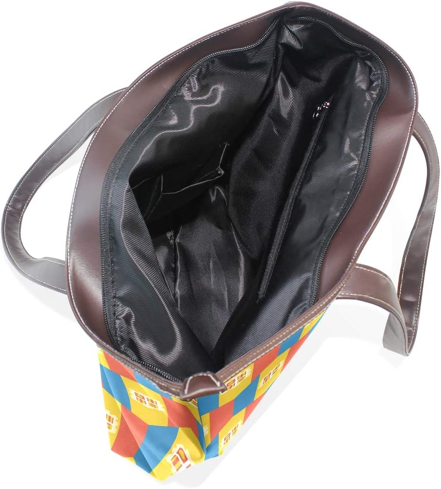 Andorra Flag Womens Fashion Large Tote Ladies Handbag Shoulder Bag