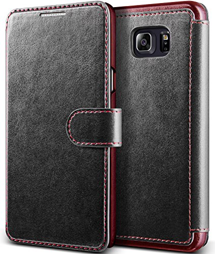 Ultra Flip PU Leather Case For Samsung Galaxy Note 5 (Black) - 4