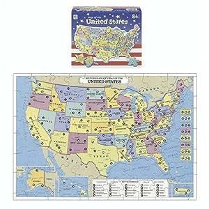 U.S. Map Puzzle by Milton Bradley