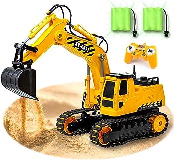 Gili Remote Control Heavy Equipment Toy Car