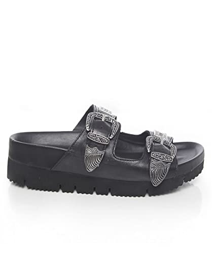 Ash Tex Mex Saga Sandales Noir  Amazon.fr  Chaussures et Sacs d2ad952fe995