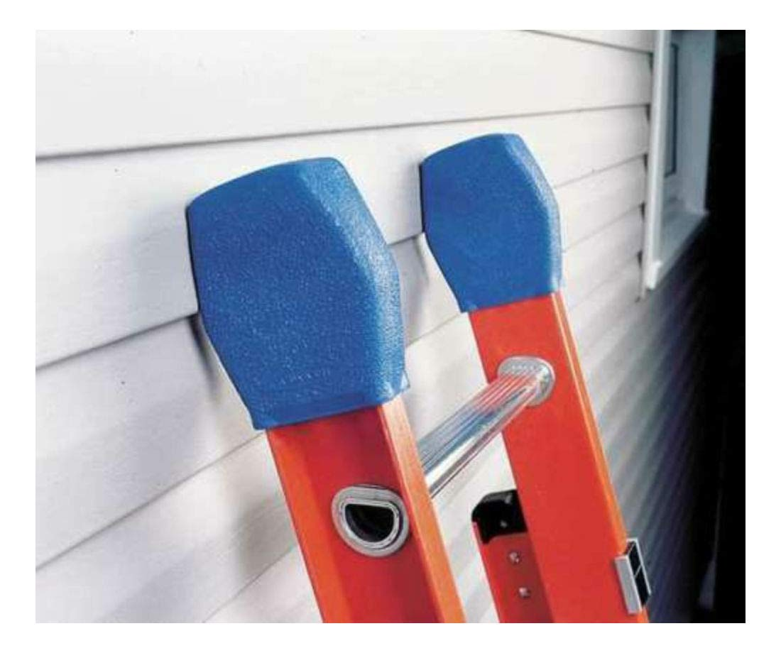 Extension Ladder Cover Kit, Rubber