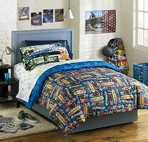 Amazon Com X Games Skateboard Bedding Collection Home