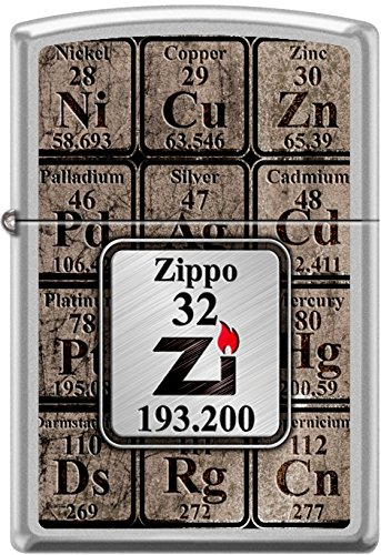 New ZIPPO TABLE OF ELEMENTS Windproof Pocket Lighter ()