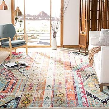 Amazon.com: Safavieh Monaco Collection Vintage Area Rug, 8 ...
