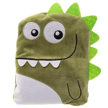 Snuggables - Cojín con aroma a lavanda de dinosaurio verde ...
