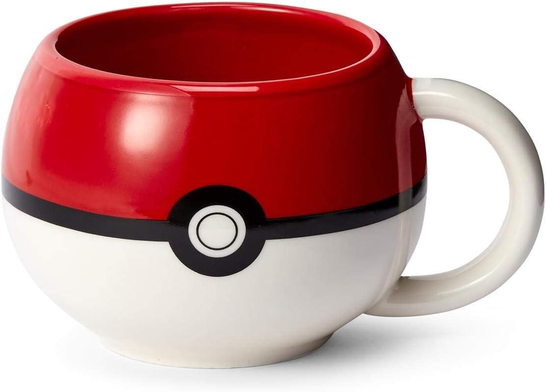 Official Pokémon Pokeball Molded Mug