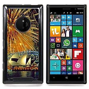 SKCASE Center / Funda Carcasa protectora - Sydney Fuegos artificiales;;;;;;;; - Nokia Lumia 830