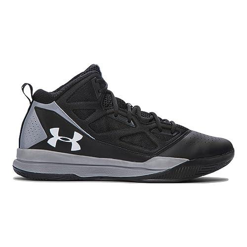 Under Armour Jet Mid Basketball Men/'s Shoes 1269280-001 Black//Grey US Size 10