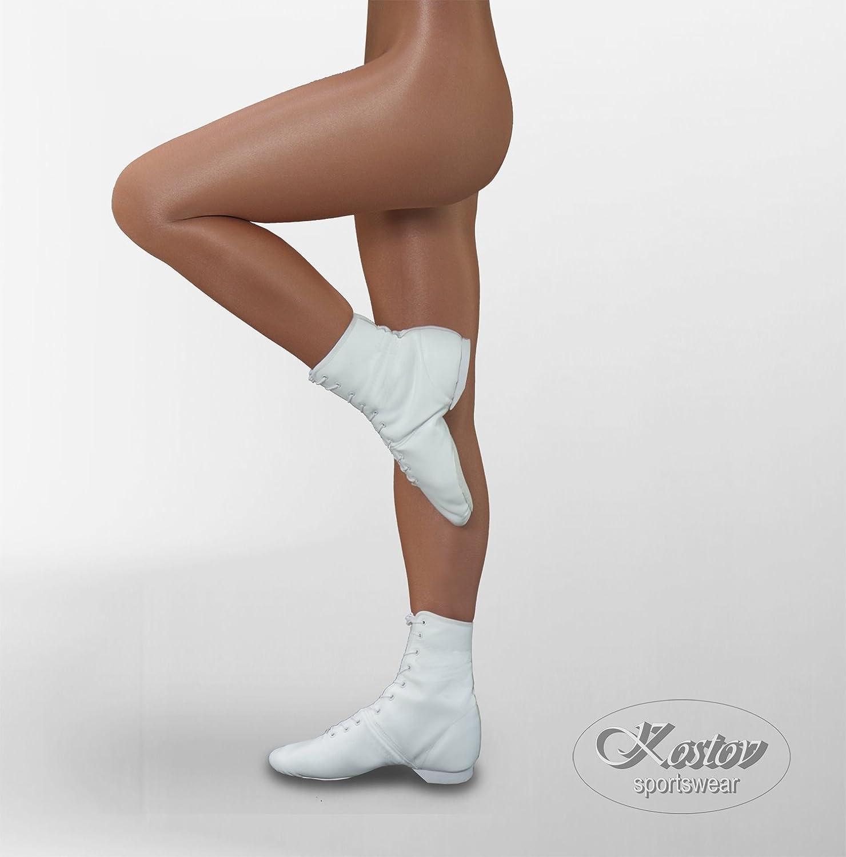 Kostov Sportswear Tanzstrumpfhose Toast - 70 Den Strumpfhose Damen mit Fuß