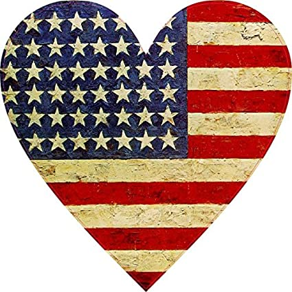 Image result for american flag heart
