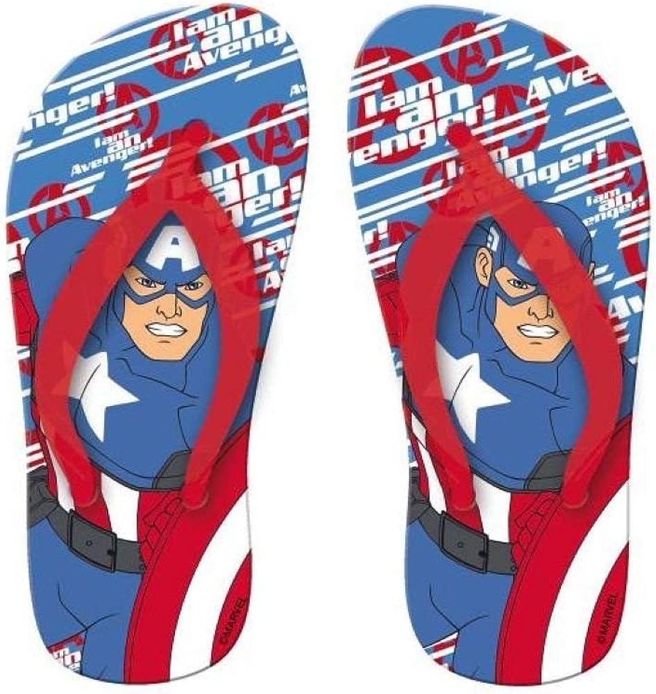UK Kids 1 New Boxed Boys Marvel Spider-Man Red//Navy Sandals UK Infant 8s