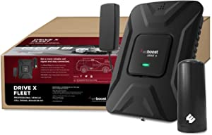 weBoost Drive X Fleet (473021) Cell Phone Signal Booster for Any Fleet Vehicles | Verizon, AT&T, T-Mobile, Sprint | Requires Professional Installation