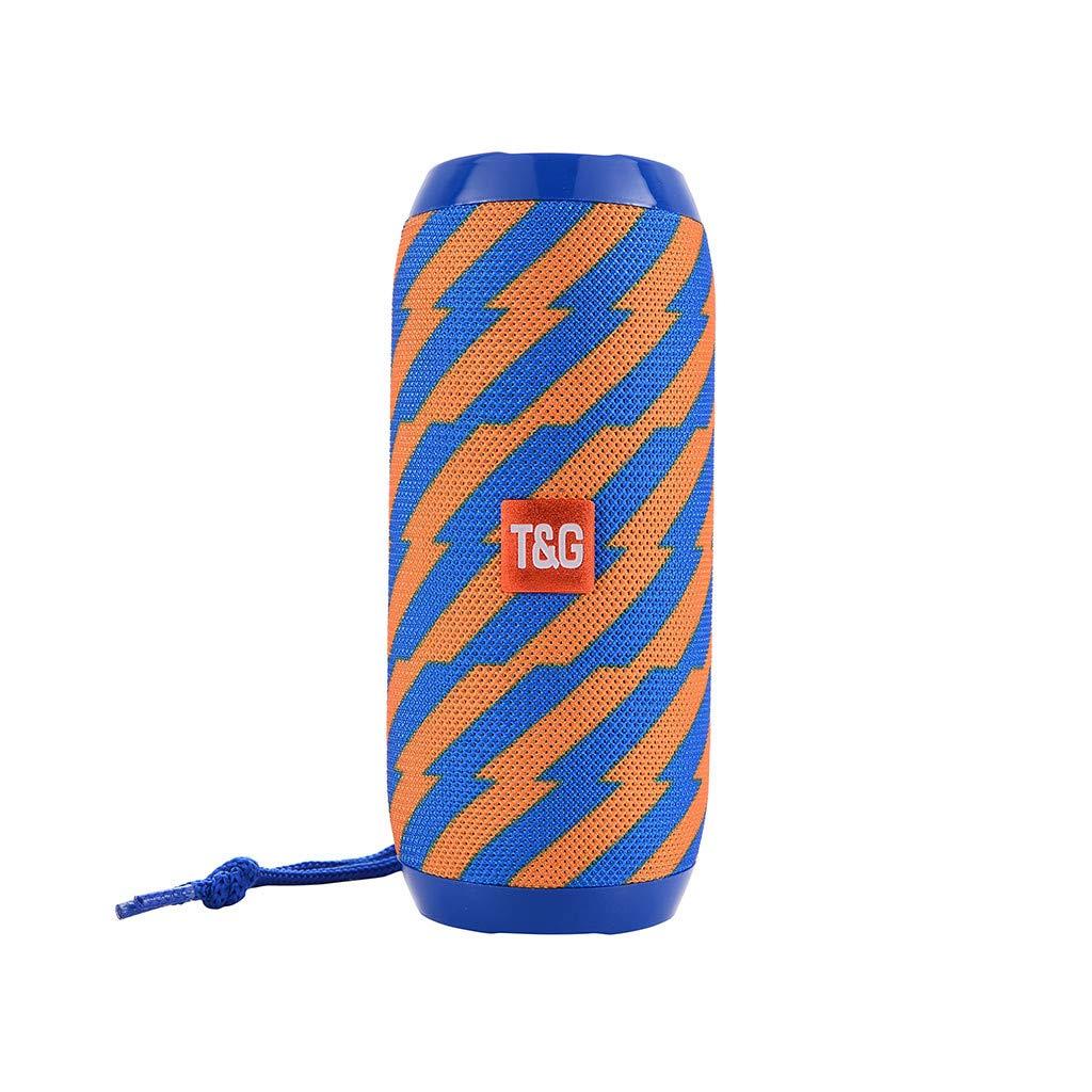Altavoz Bluetooth,TG 117 Altavoz Bluetooth inal/ámbrico Est/éreo al Aire Libre Bajo USB//TF//FM Radio Audio