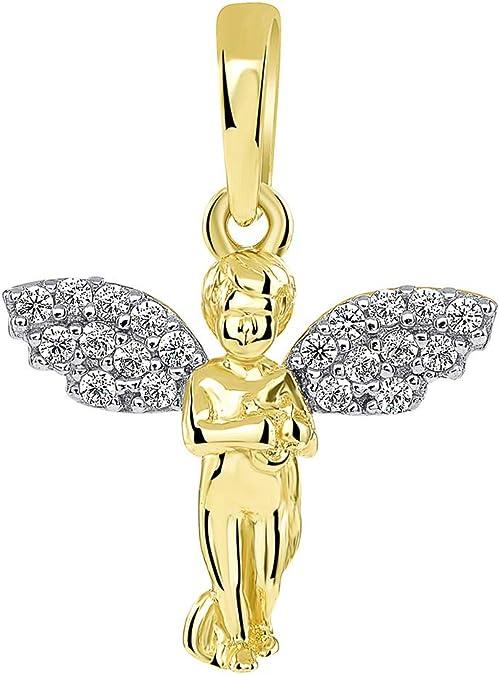 SjSilver Jewels Solitiare Diamond Stud Screwback Earrings in 14K Gold Fn CZ Daily Wear For Girls Womens