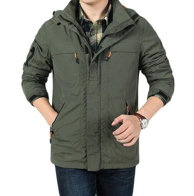 info for 926b2 3a513 ZGJQ Giacche da uomo all'aperto più giacche calde di velluto ...