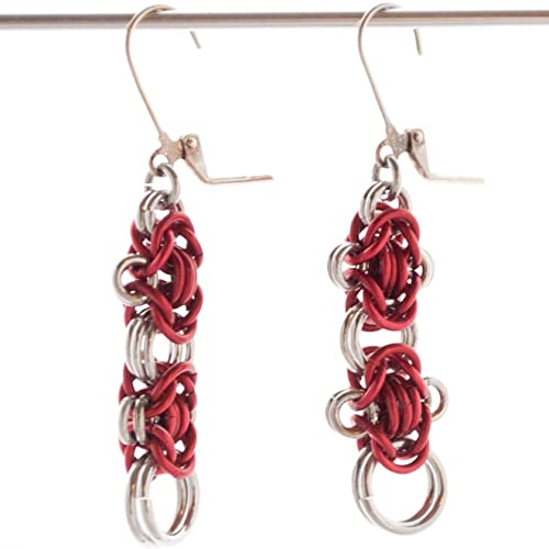 Amazon com: Rondo ala Byzantine Red Chainmail (Chainmaille