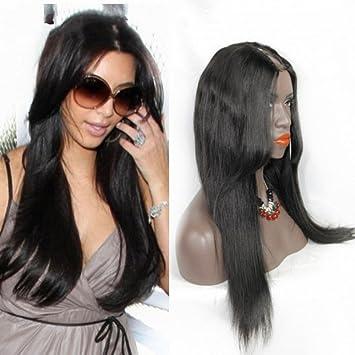 Amazon Clymene Hair Layered Cut Unprocessed Straight U Part